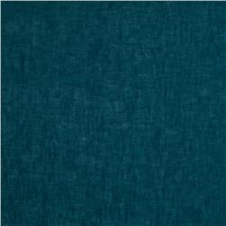 Sheer Pure Linen Turquoise