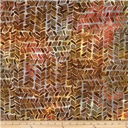 Batavian Batiks Herringbone Gray/Brown