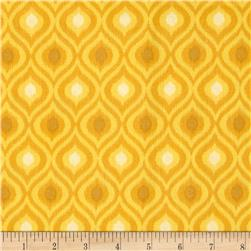 Ikat Tonal Golden Yellow