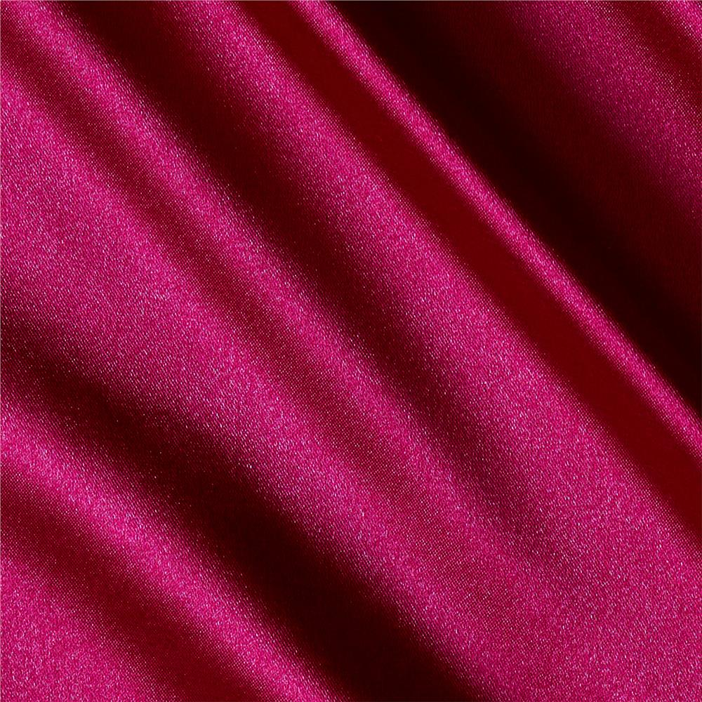 Stretch Charmeuse Fuchsia Fabric