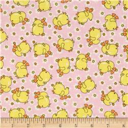 Baby Talk Chicks Pink