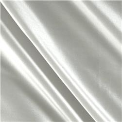 100% Silk Shantung White