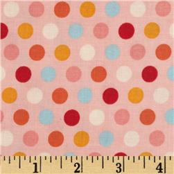 Riley Blake Just Dreamy 2 Dots Pink