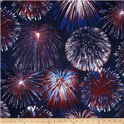 Stonehenge Celebration 2 Fireworks Red/White/Blue