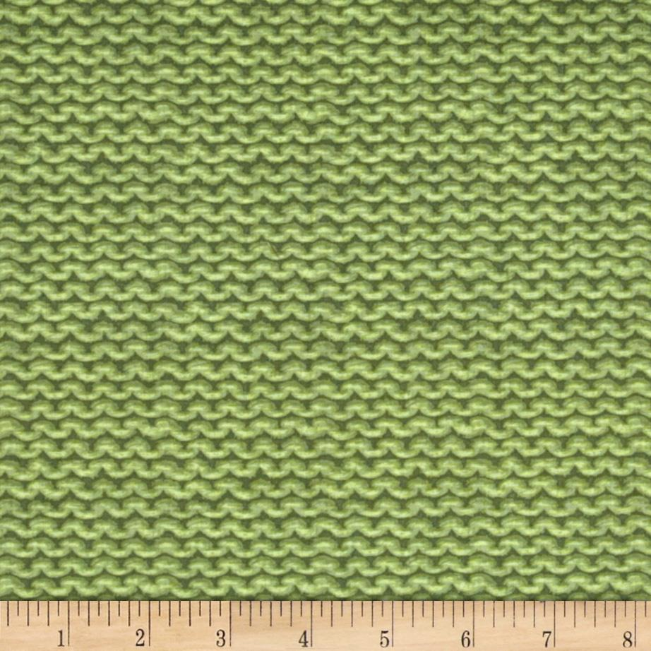 A Closer Look Purl Texture Green