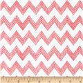 Poppy Patio Chevron Pink