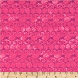 Kingston Scrollwork Pink