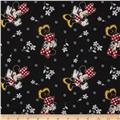 Disney Minnie & Flowers Black