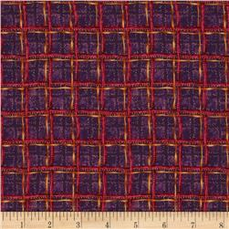 Bittersweet Cross Roads Plaid Plum