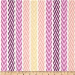 Spectrum Chevron Stripe Wildberry