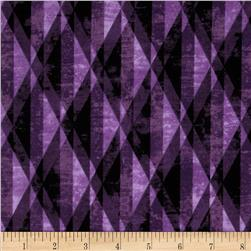 Michael Miller Diamond Prism Purple Fabric