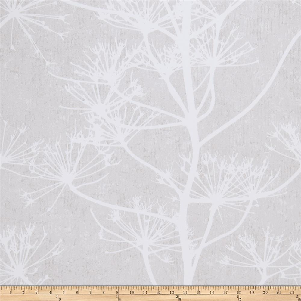 Fabricut 50042w Arden Wallpaper Winter White 02 (Double Roll)