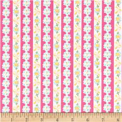 Riley Blake Dainty Darling Stripe Pink