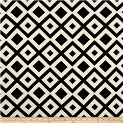 Ponte De Roma Geometric Diamond Black/White