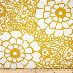 Seedlings by Thomas Paul Fiesta Twill Yellow Fabric