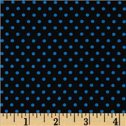 Spotlight Dots Turquoise/Black