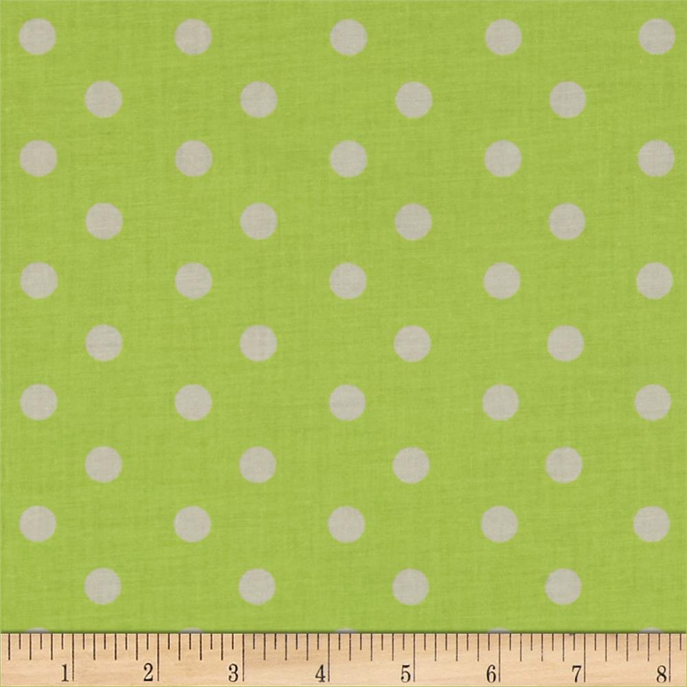 Baby Talk Aspirin Dot Green/White