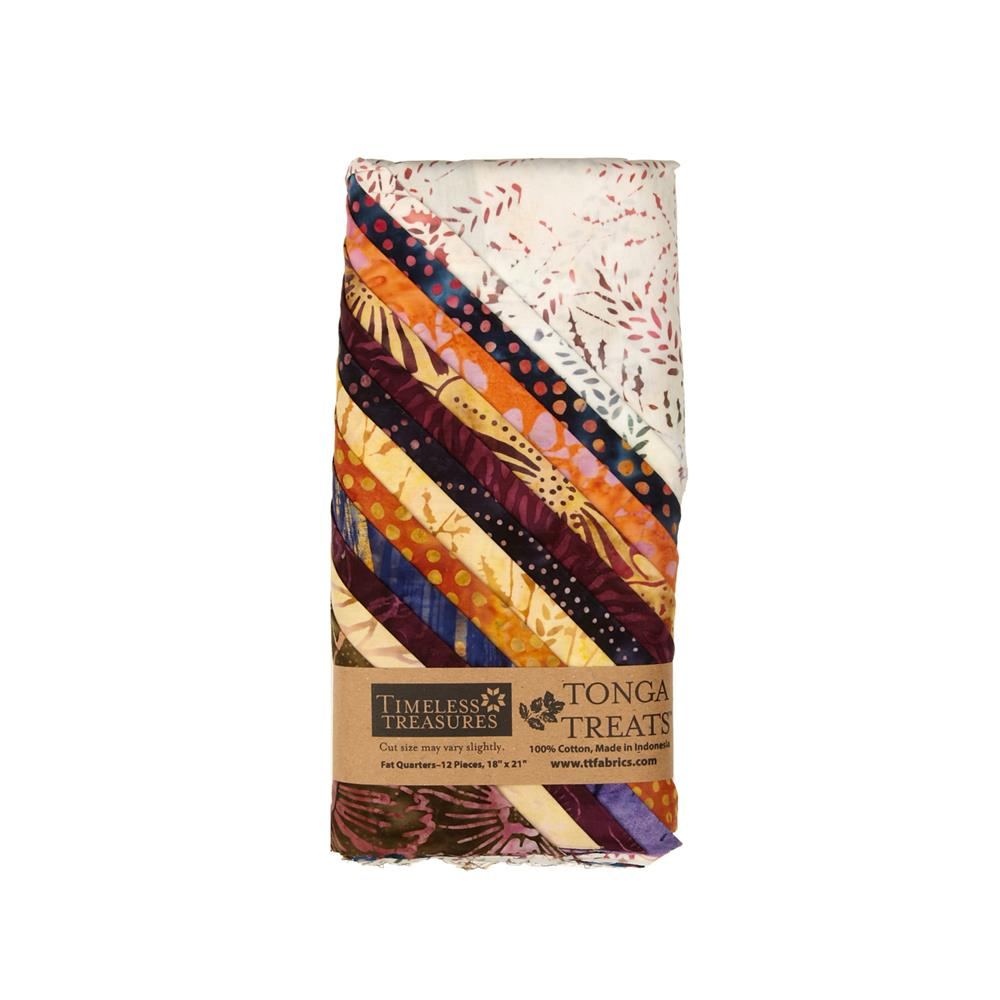 Timeless Treasures Tonga Batik Fig Fat Quarter Bundles