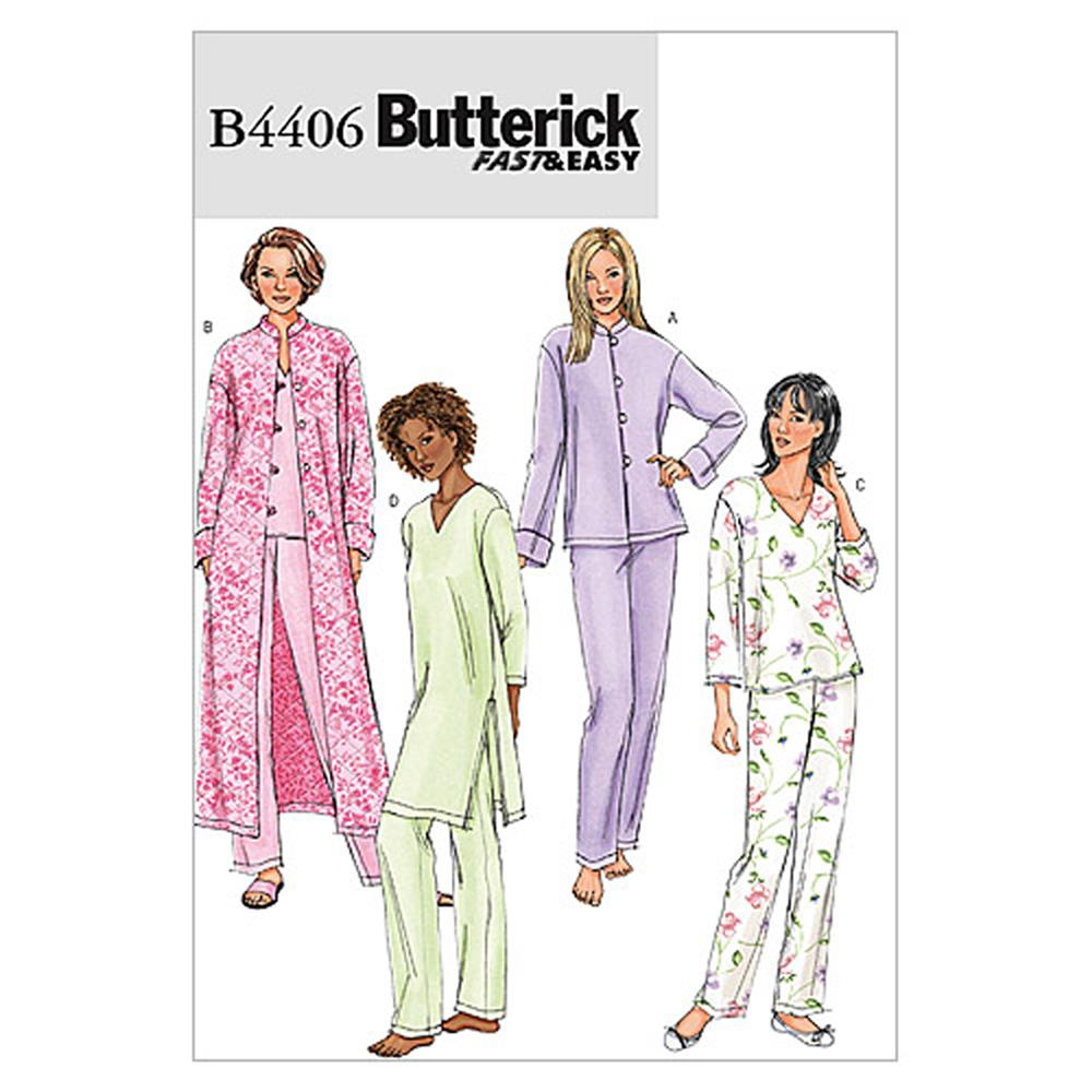 Butterick Misses'/Misses' Petite Jacket, Robe, Top, Tunic and