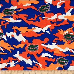 University of Florida Cotton Camouflage Orange/Blue