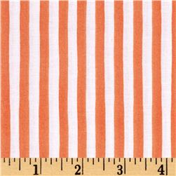 Loralie Designs Lazy Beach Gulf Stripe Orange