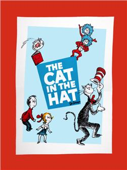 The Cat in the Hat Celebration Dreamie Micro Fleece Panel