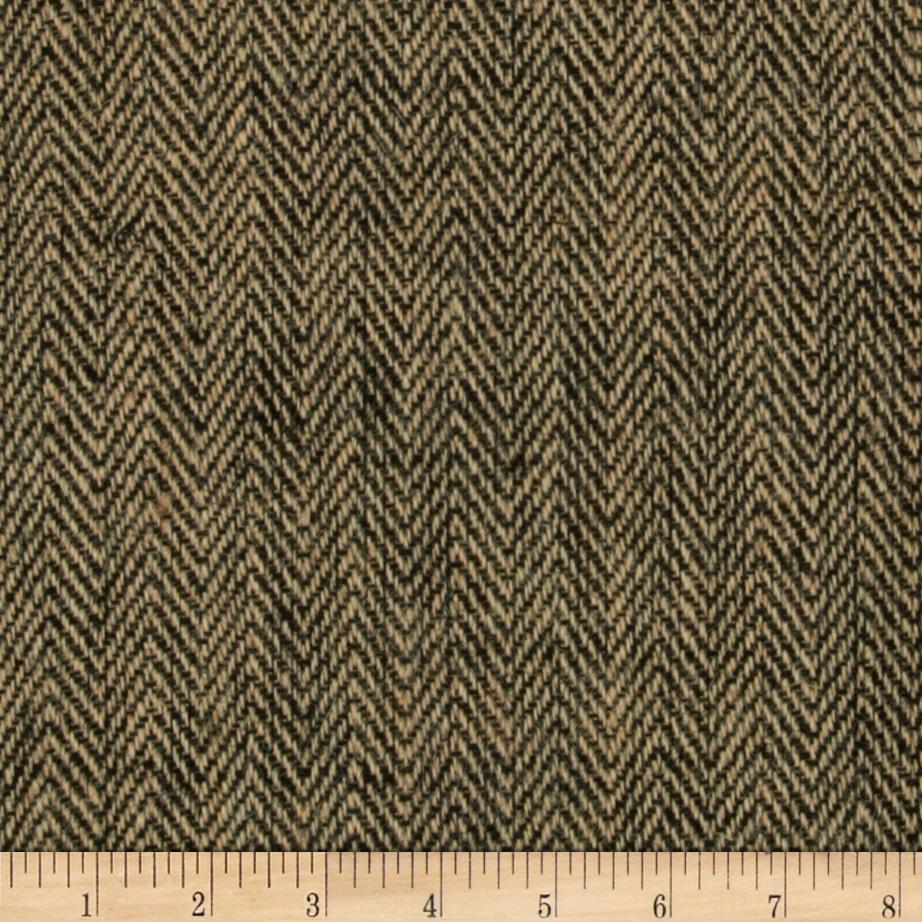 "48"" Chevron Burlap Natural/Black"