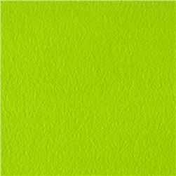 Warm Winter Fleece Solid Lime