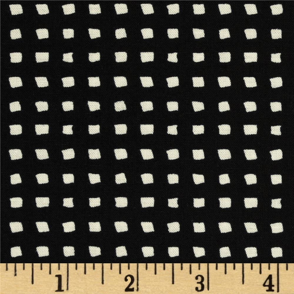Cotton + Steel Black & White Mini Squares