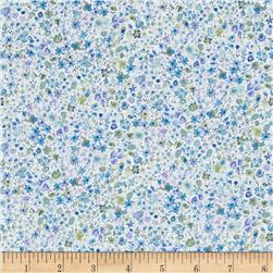 Henley Flowers Springtime Ditzy Flowers Packed Flowers White/Blue