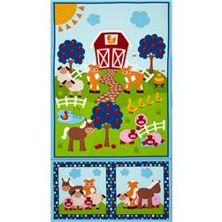 Apple Hill Farm Panel Multi
