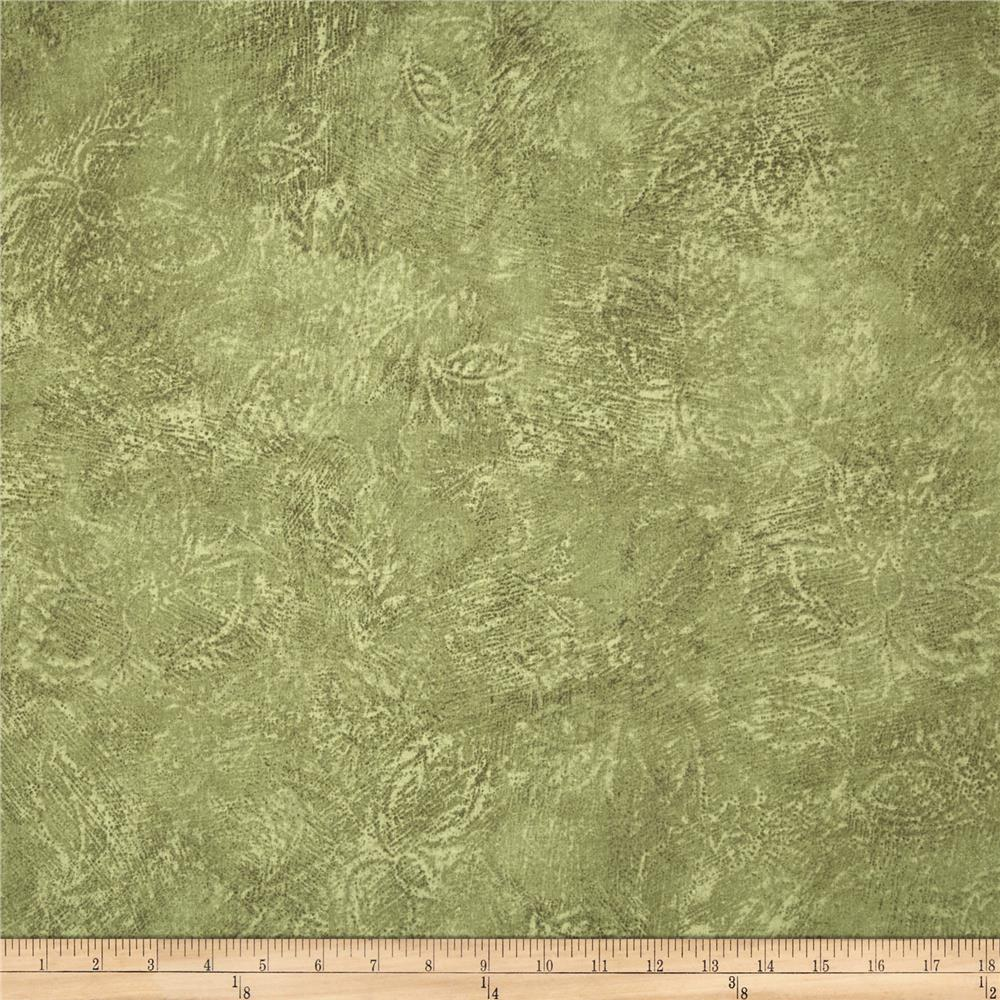 Jinny Beyer Palette Etched Leaf Neutral
