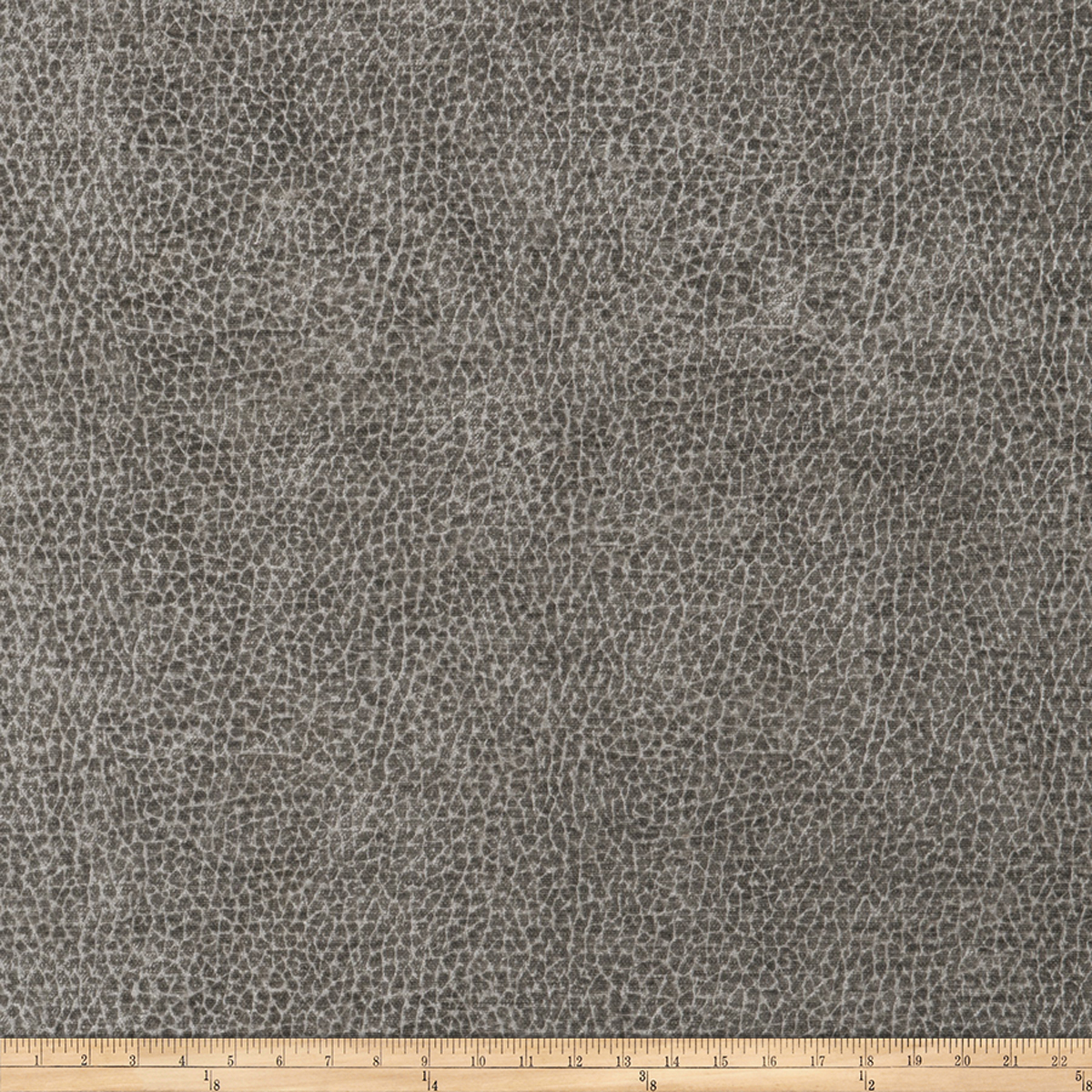 Image of Trend 03289 Chenille Steel Grey Fabric