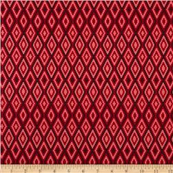 Riley Blake La Vie Boheme Stitch Red