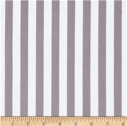 Riley Blake 1/2'' Stripe Grey