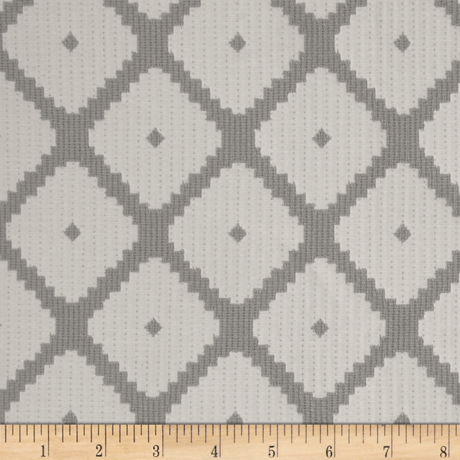Dwell Studio Souk Jacquard Dove Fabric