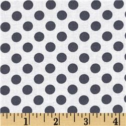 Kaufman Spot On Medium Dot Graphite