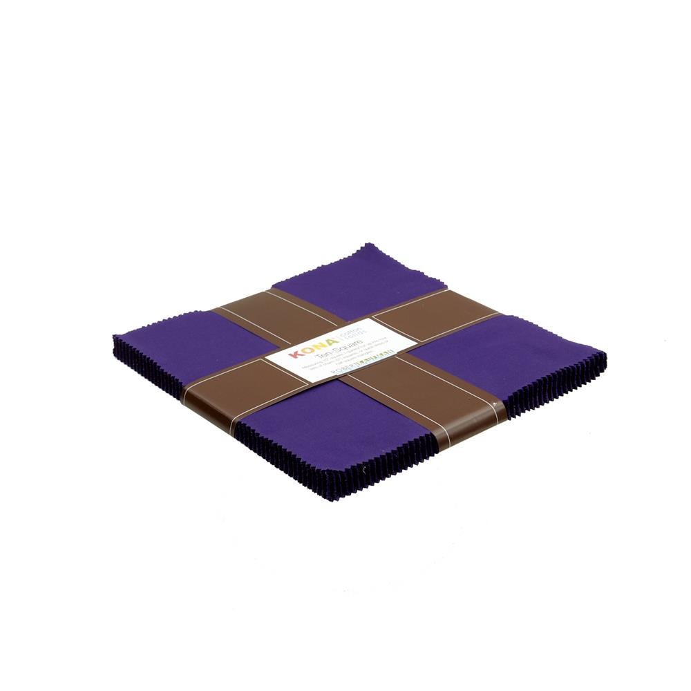 Kona Cotton Purple Ten-Square