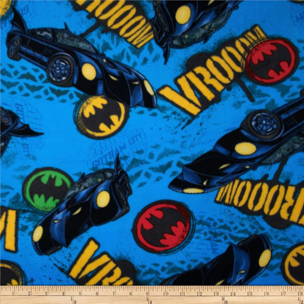 Batman Fleece Vroom Medium Blue