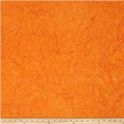 Island Batik Swirl Dot  Orange