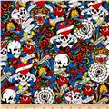 Ed Hardy Love Is True Packed Skulls & Hearts Blue