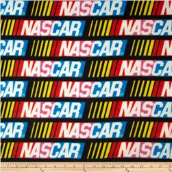 Nascar Fleece Allover Black