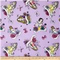 Disney's Princess Watercolor Tossed Princess Purple