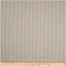 Waverly Timeless Ticking Stripe Wedgewood Fabric