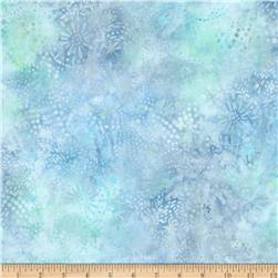 Batavian Batiks Starry Night Pastel Blue