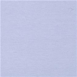 Cotton Interlock Knit Baby Blue Fabric