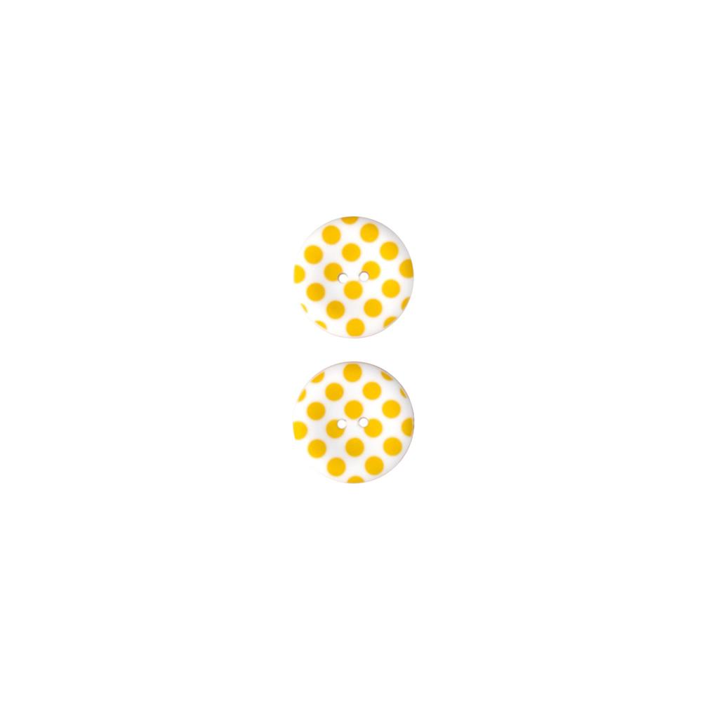 Riley Blake Sew Together 1 1/2 Matte Button Dots Yellow