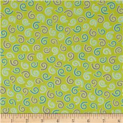 Savvy Swirls Curly Q's Green/Teal