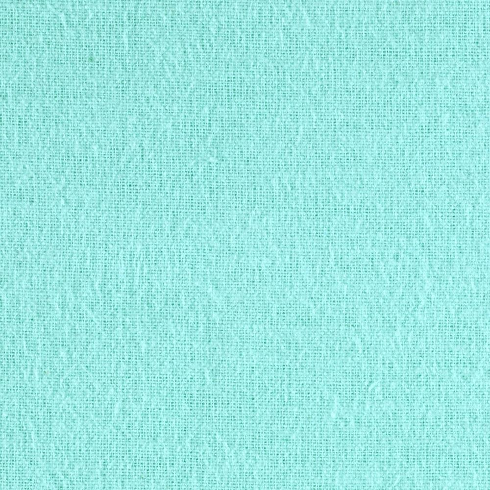 108'' Wide Flannel Aqua Fabric