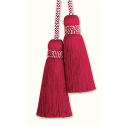 Fabricut Marrakech Double Tassel Tieback Pomegranate